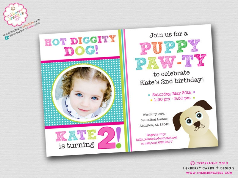 Dog Birthday Party Themes