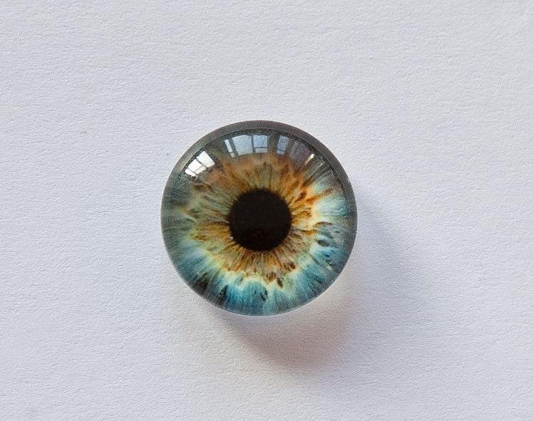 Глаза стеклянные как сделать