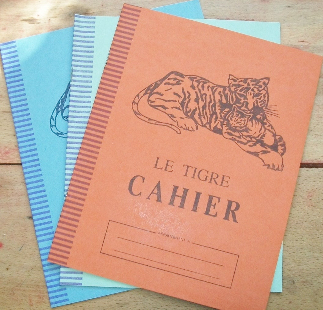 French School Book Cover ~ Three unused vintage french s school by afarmhouseinfrance