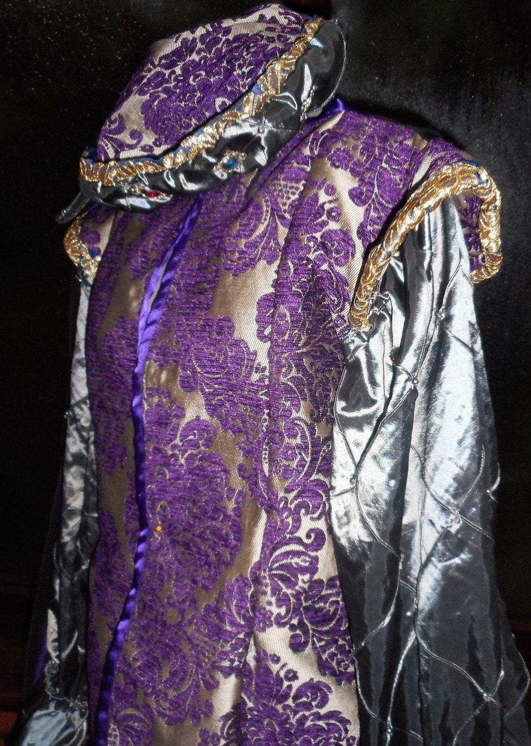 mens Tudor style medieval prince stage party theatre jacket waistcoat hat cloak pants custom made to your own measurements and color