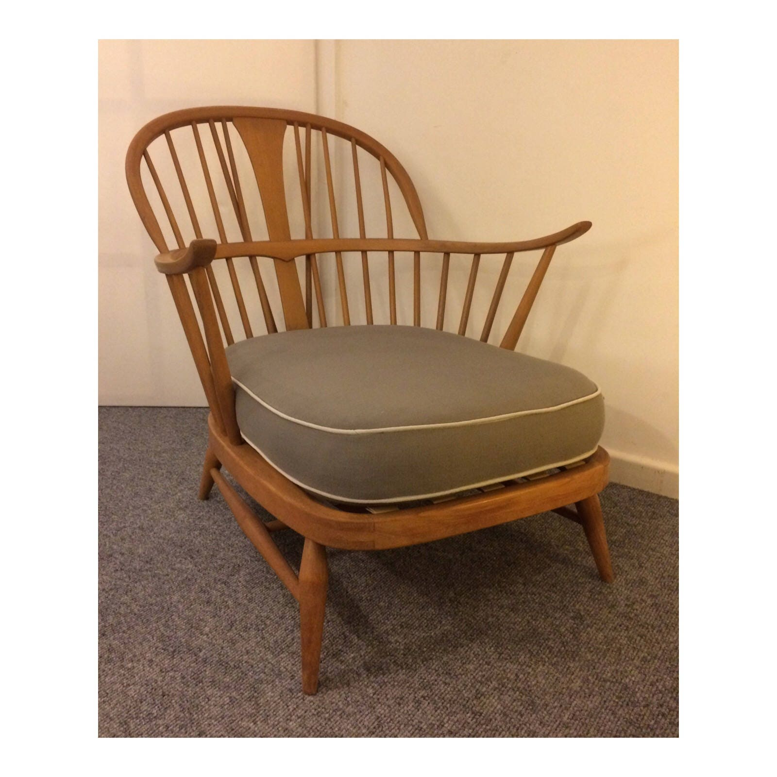 Rare Ercol Easy Chair Model 501