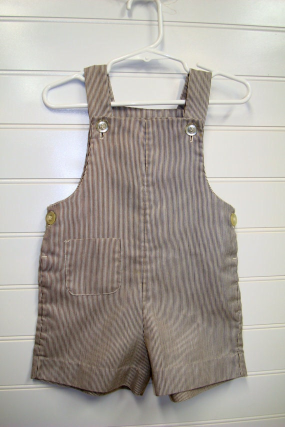 vintage baby clothes baby boy coveralls by