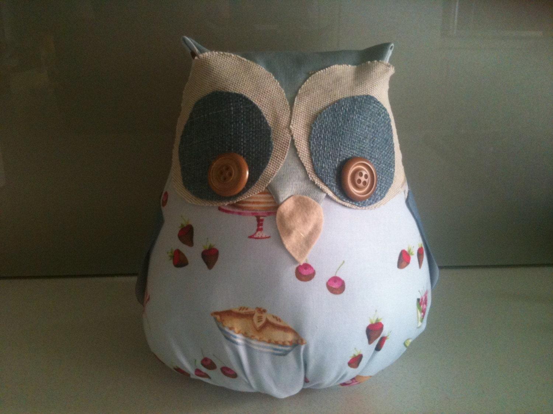 Handmade Owl Door Stop