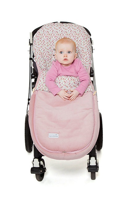 Footmuff  Cosey Toes  The Matilda (Vintage Pink Footmuff)  Universal Footmuff for Bugaboo Baby Jogger iCandy UppaVista and many more