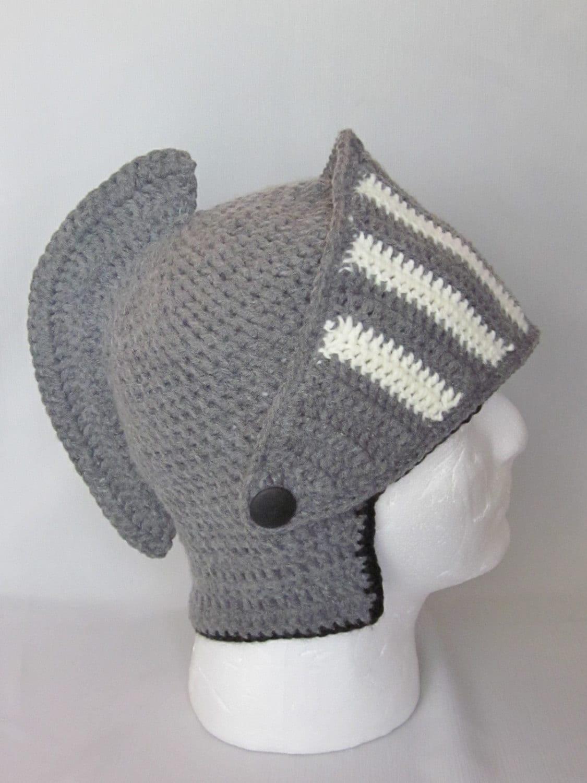 Crochet Viking Hat : Crochet Viking/Trojan/Earflap Hat/ by MagicalStrings on Etsy