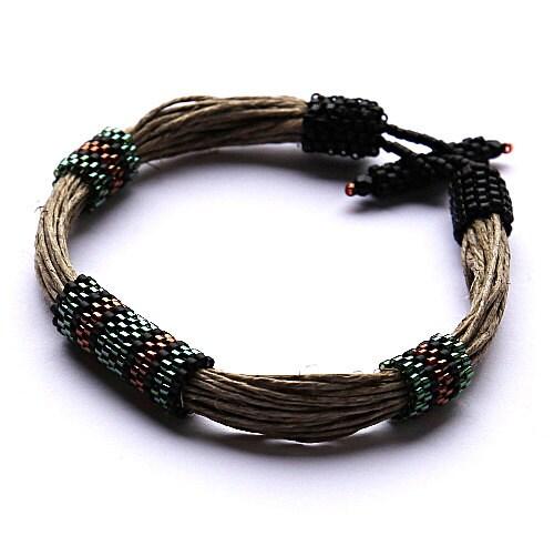The shadow men's bracelet - Naryajewelry