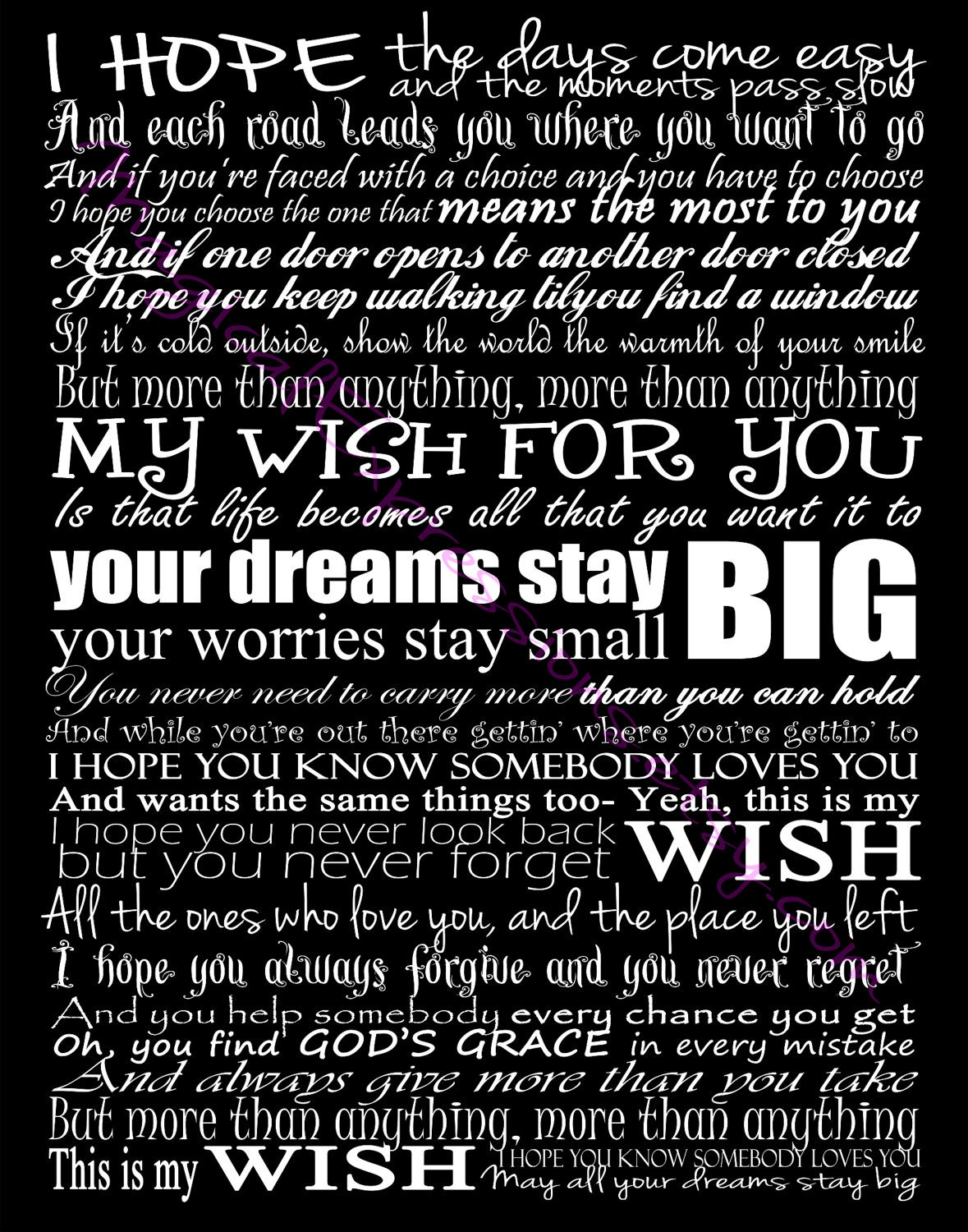 Who wrote my wish by rascal