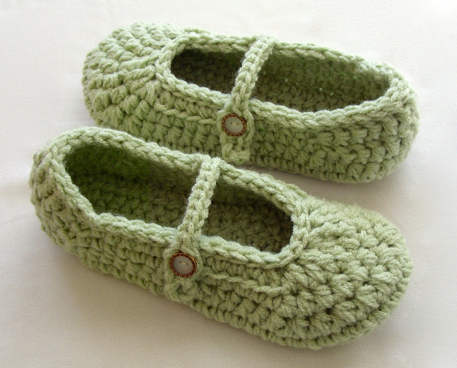 Knotty Generation: Mary Jane Baby Booties Crochet Pattern