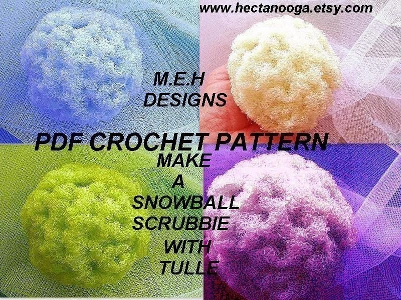 How to crochet spiral scrubbies with a pattern | Video « Wonder