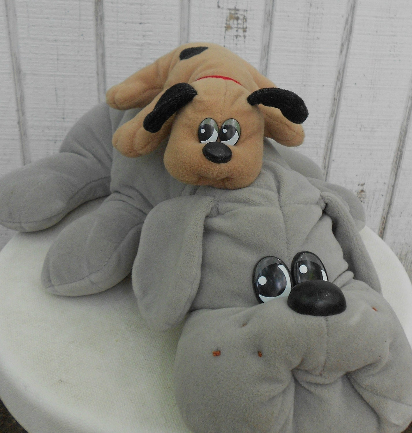 Puppy Toys For 10 And Up : S toy pound puppy set of two grey mother and by kerrilendo