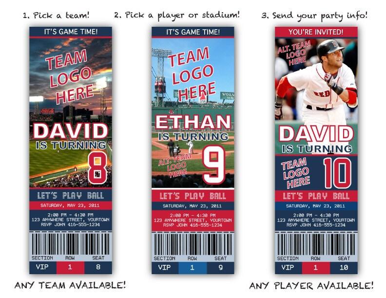 Baseball Party Invitation Wording for nice invitations sample