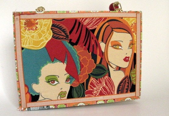 Cigar Box Purse All About Eve