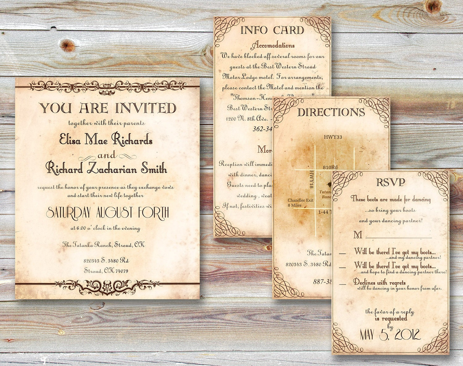 WEDDING INVITATIONS PRINTABLE Printable Templates Pocketfold Country