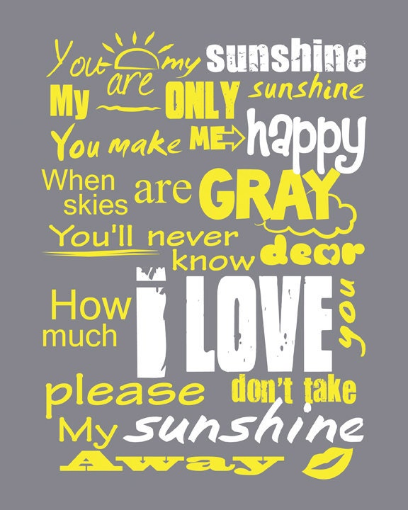 Writer you are my sunshine in the darkness