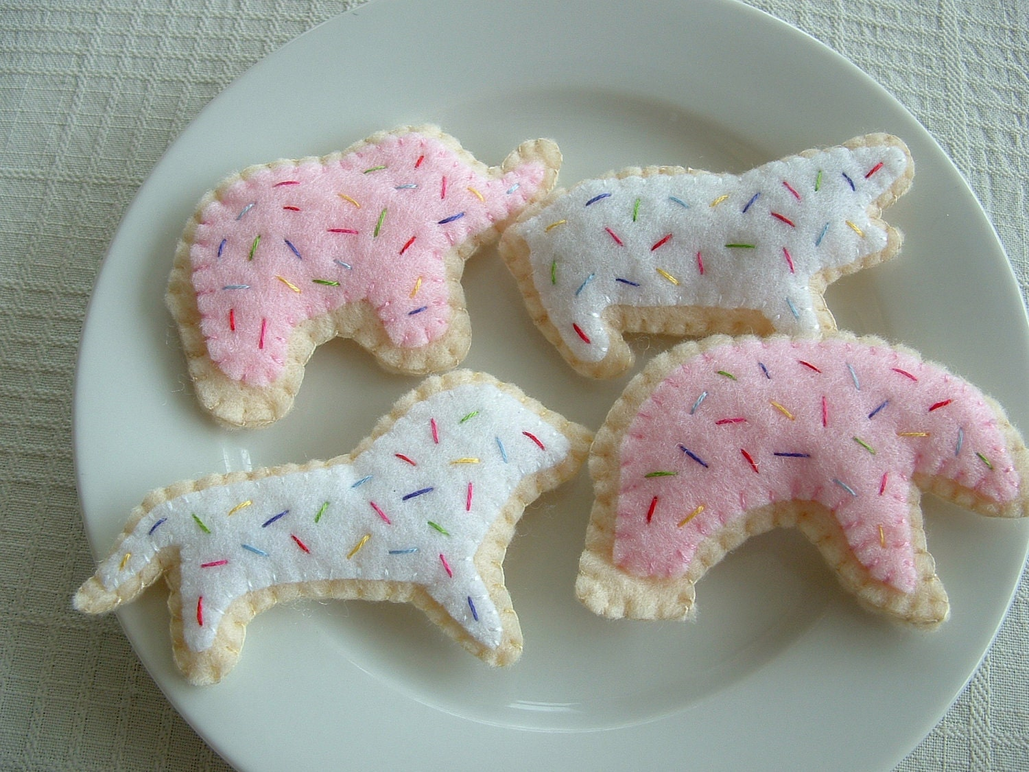 Felt Animal Crackers Fun Felt Food