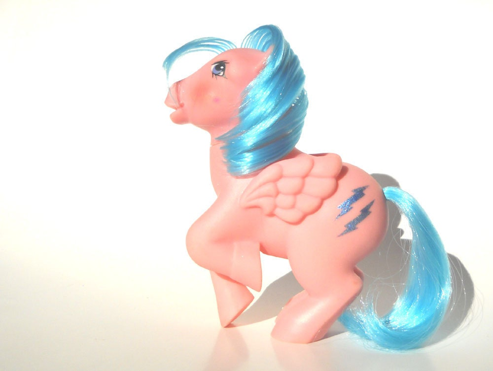 Classic 80s Toys : My little pony firefly vintage s toy mlp by manateestoybox