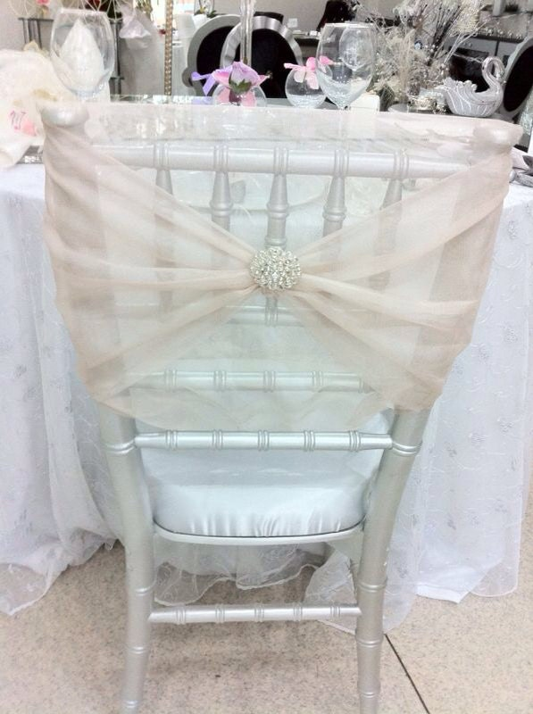 Wedding Chair Bride And Groom Chair Cover By