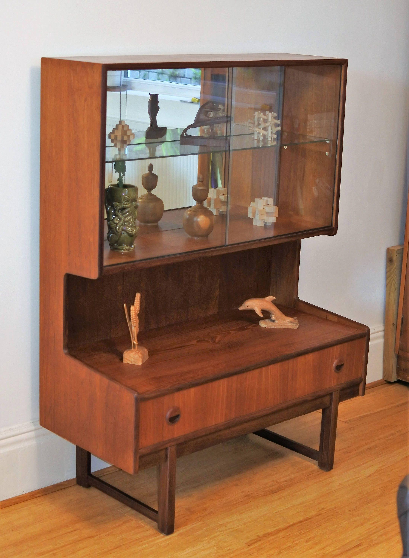 SOLD SOLD Teak Display Cabinet.