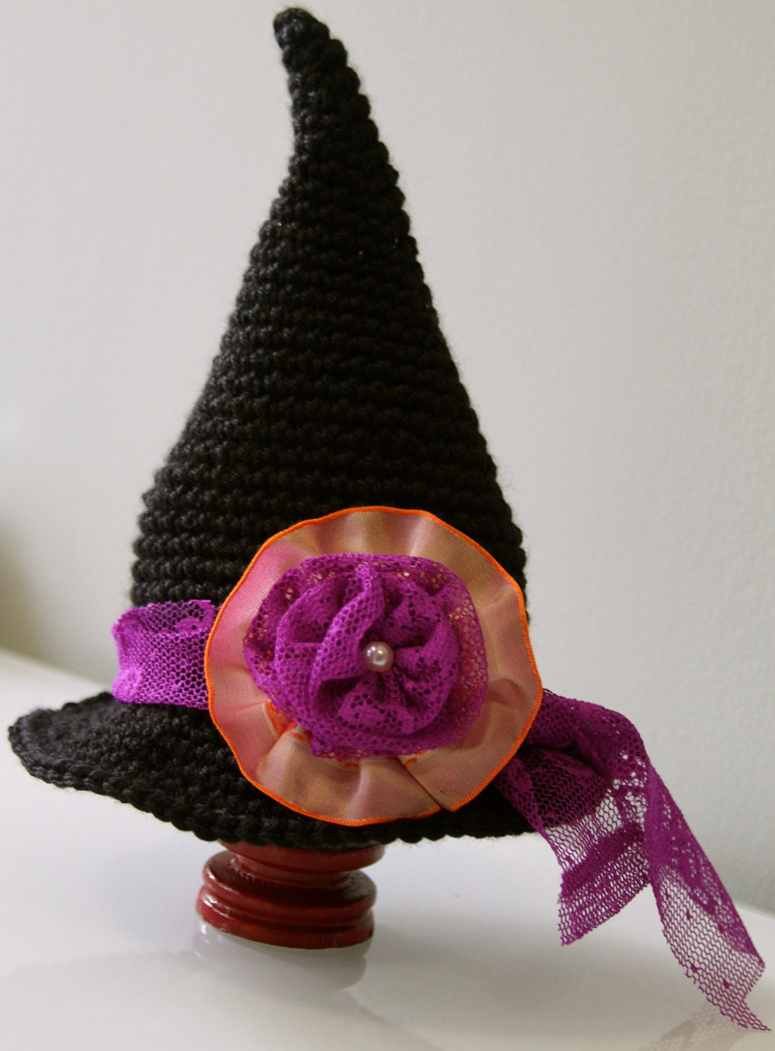 Items similar to Halloween Crochet Witch Hat - PDF Pattern ...