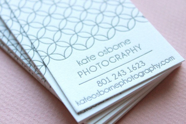 CUSTOM 1-COLOR Calling or Business Card QTY/100