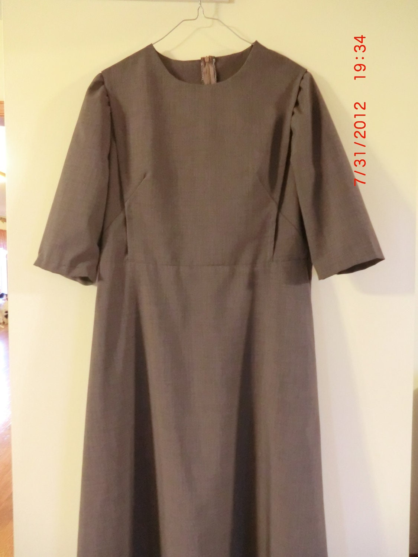modest mennonite style cape dress by mennonitemom on etsy