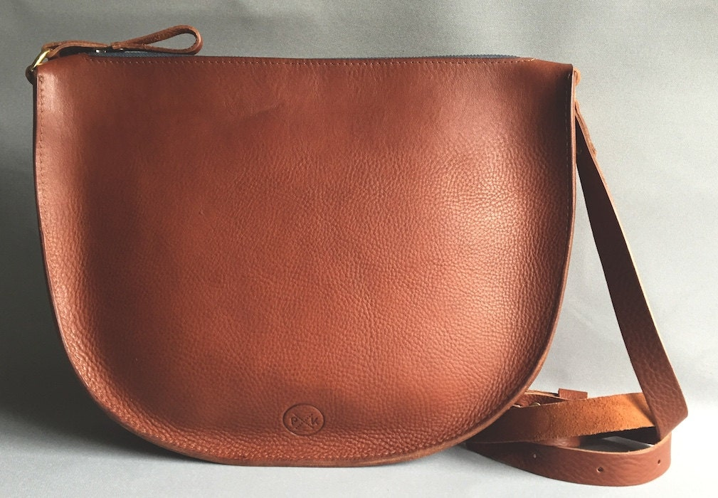 Large tan leather messenger bag tan saddle bag gift for her leather shoulder bag leather satchel leather cross body large tan handbag