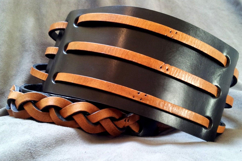 The Roman Guitar Strap - handmade, customizable, leather only. - JPDcompany