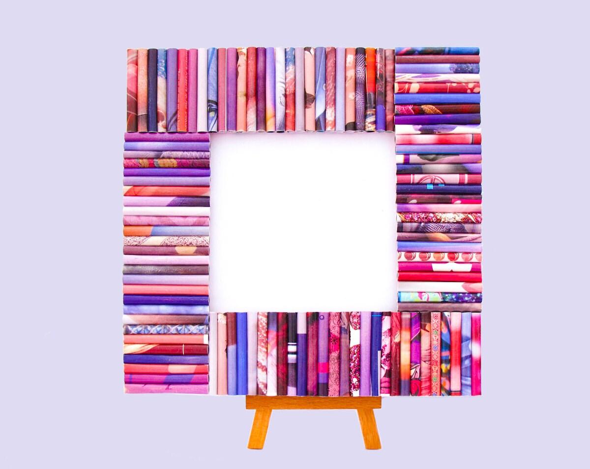Лаванда, Розовая Восстановленный Frame журналы - площади кадра, сделанные из переработанных журналы