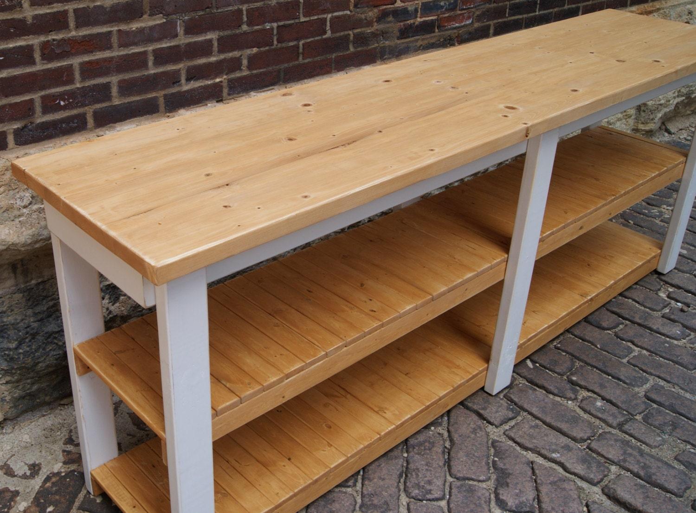 Kitchen island work station desk craft room kitchen prep table