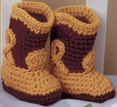 Crochet Pattern Book Baby Booties Boutique by LittleAdorables