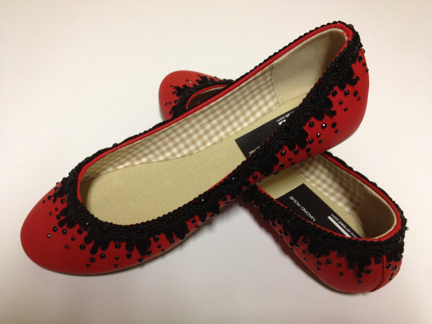 Ballet Flats Shoes. Unique Pair. By Ambe2 By Ambe2MadridRome