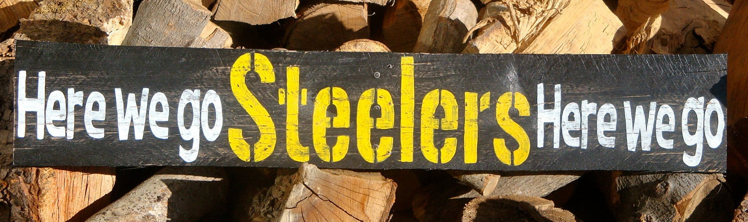 Steelers Man Cave Signs : Pittsburgh steelers man cave sign by signupnow on etsy