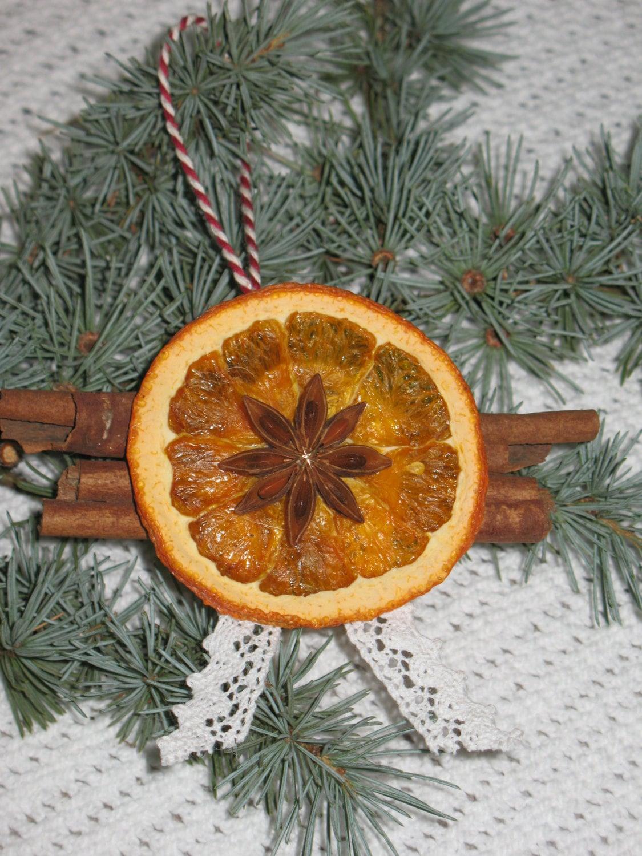 orange christmas ornament -Home Decor -