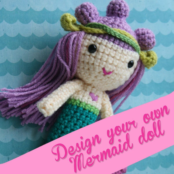 Design your own mermaid doll and jelly fish friend by for Create your own fish