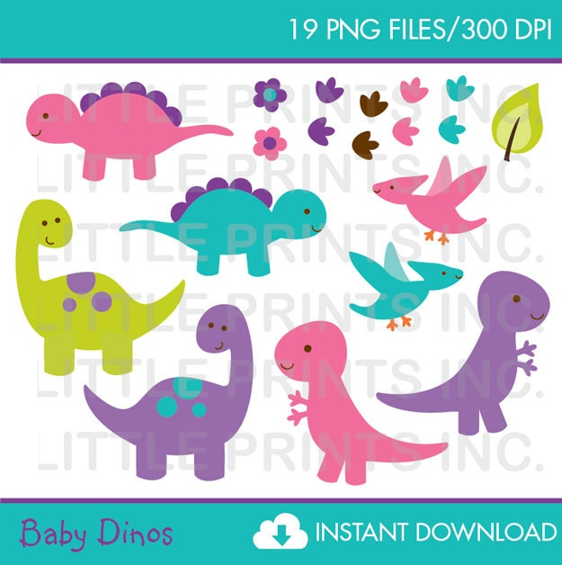 free girl dinosaur clipart - photo #28