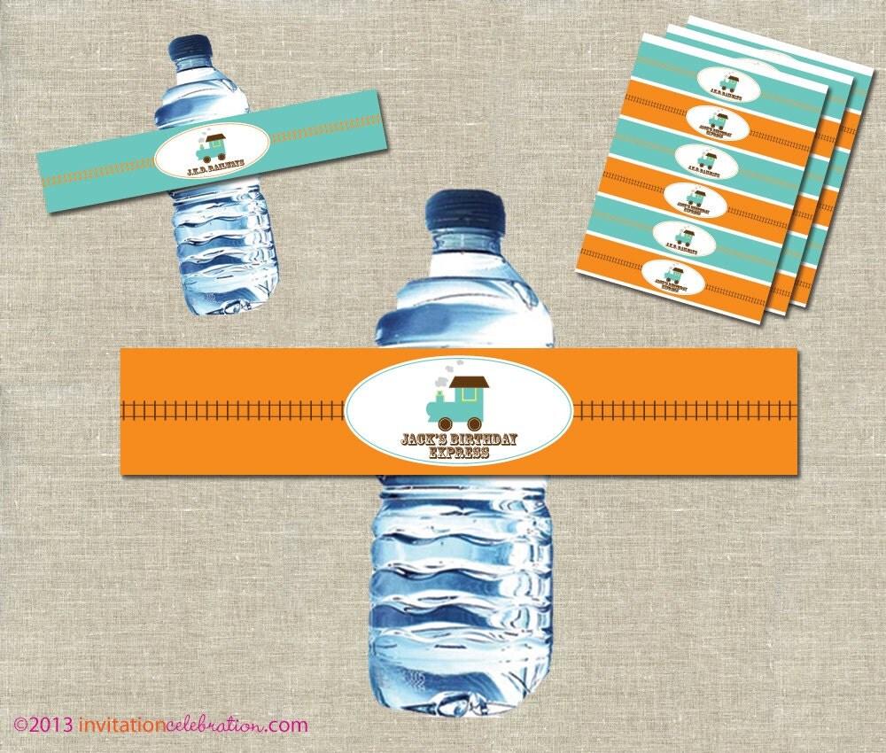Etiquetas de diapositivas de agua vintage