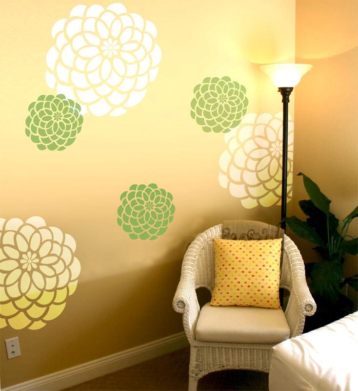 Wall stencils patterns - Stencil patterns for walls ...
