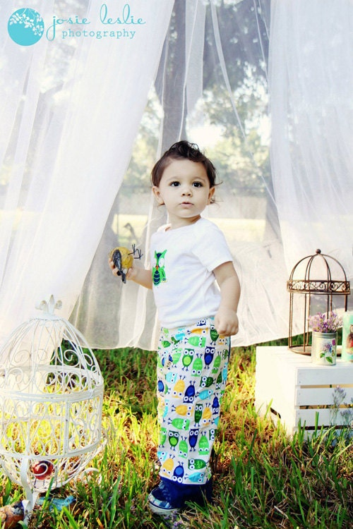 Toddler Lounge Pants Set in Urban Zoologie