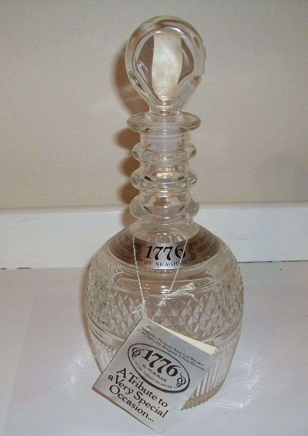 Tiffany Amp Co Whiskey Decanter 1976 By Susiesellsvintage