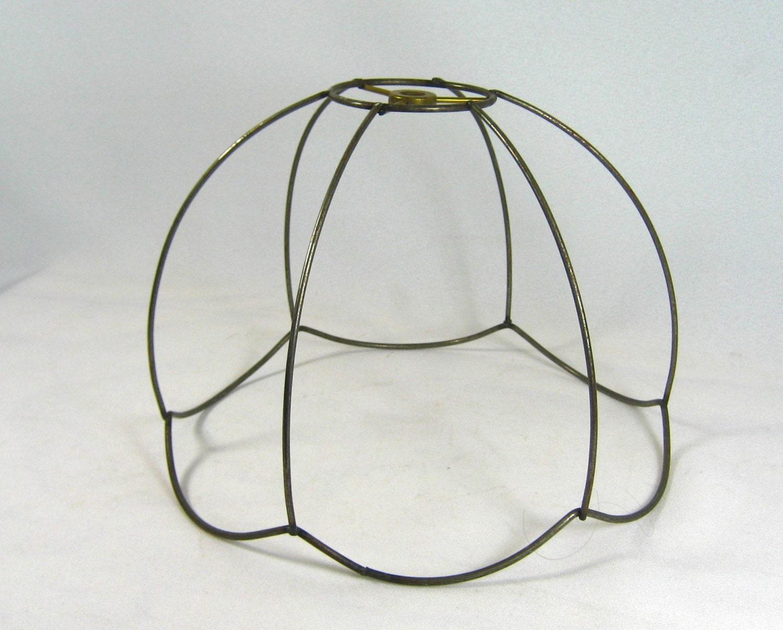 lamp shade frame bridge uno wire custom victorian by. Black Bedroom Furniture Sets. Home Design Ideas