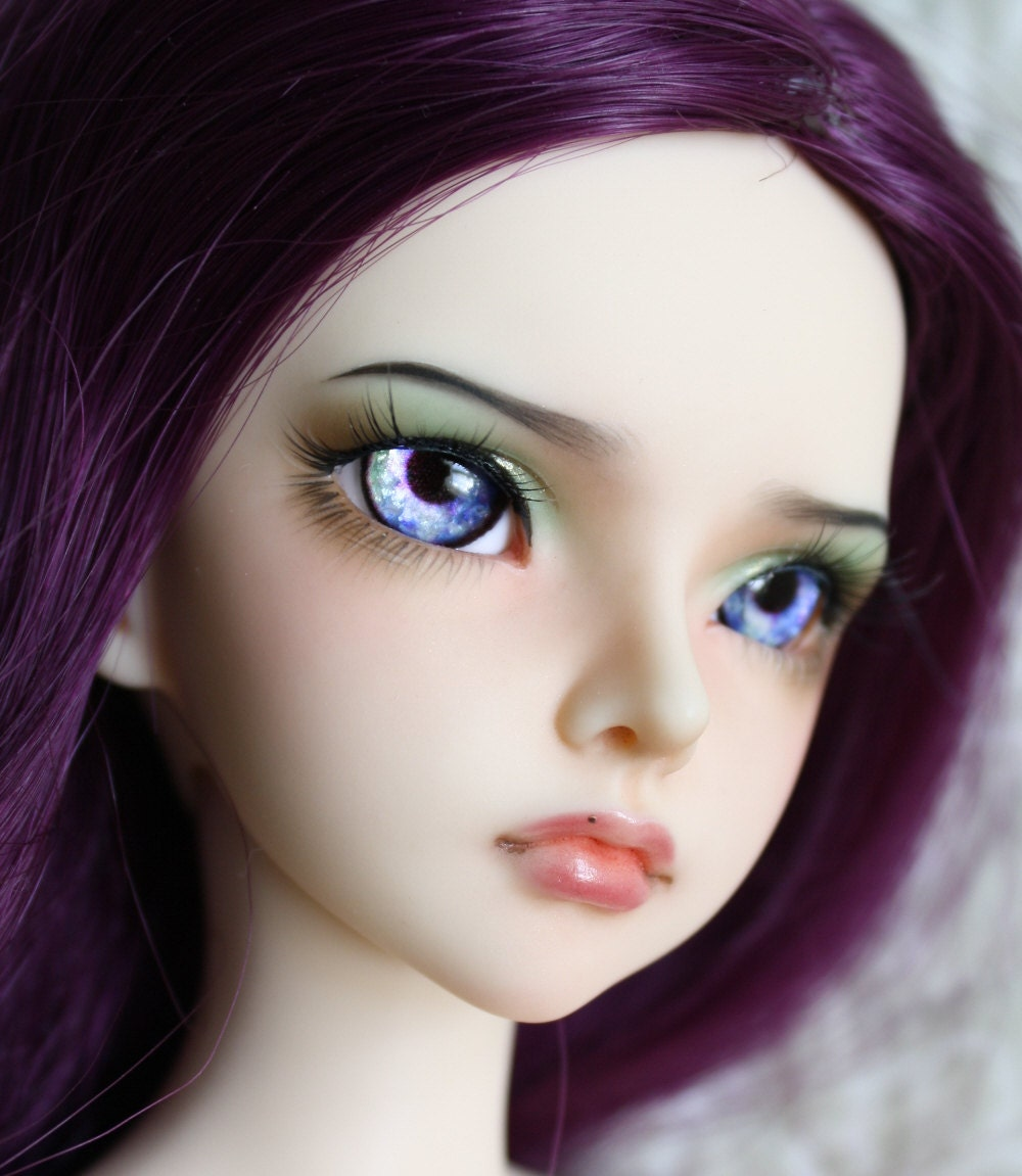 BJD eyes Doll eyes Hand made available in 12141618202224mm Lavender Lullaby made to order