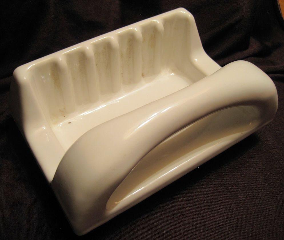 Ceramic soap dish tile