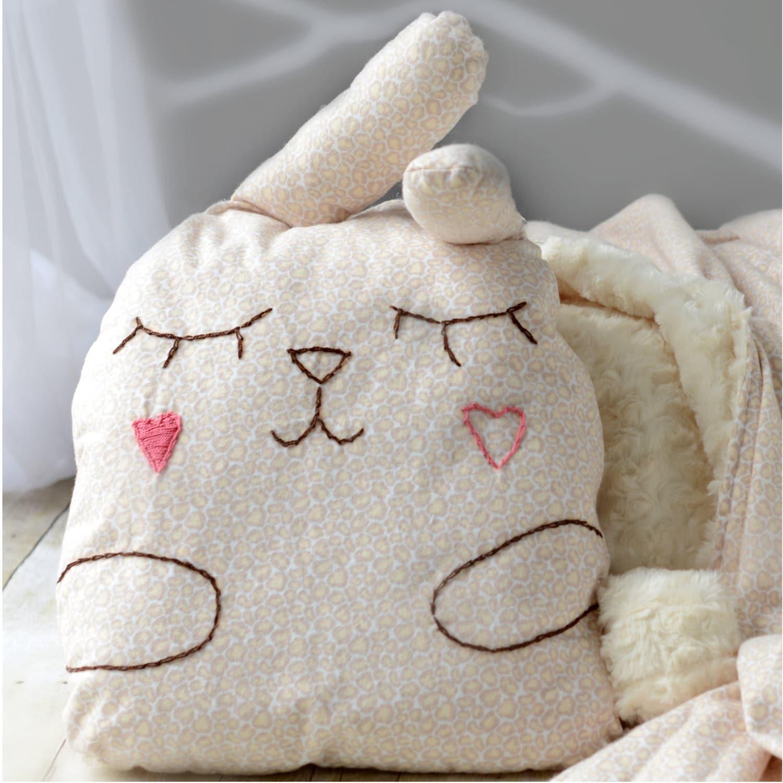 Sleeping bunny toy pillow-baby animal toy pillow - KIDZCOZY
