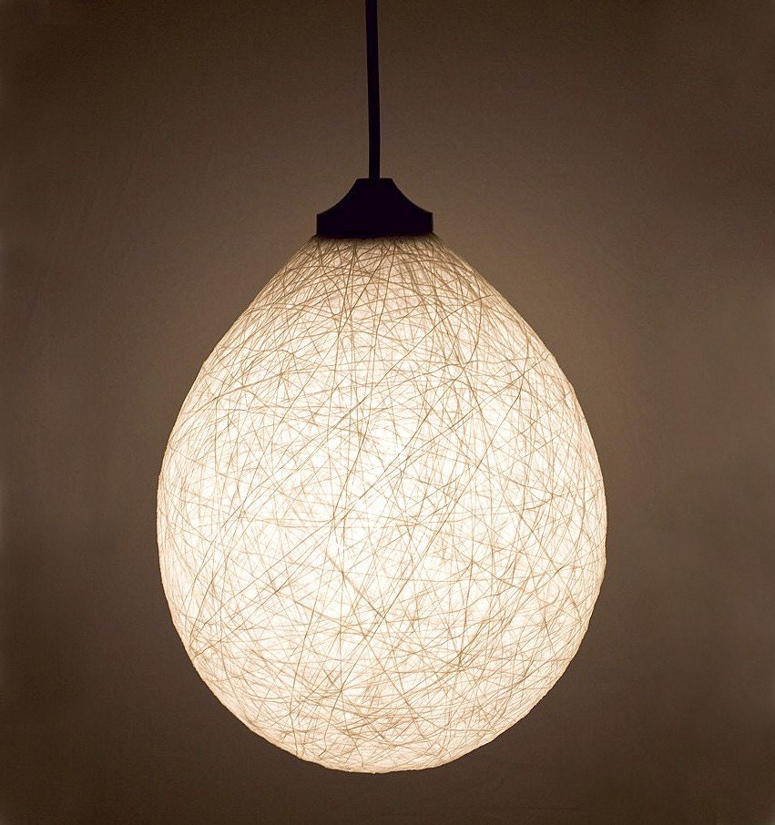 Pure white handmade lamp lamp shade by filigreecreations on etsy - Hand made lamps ...
