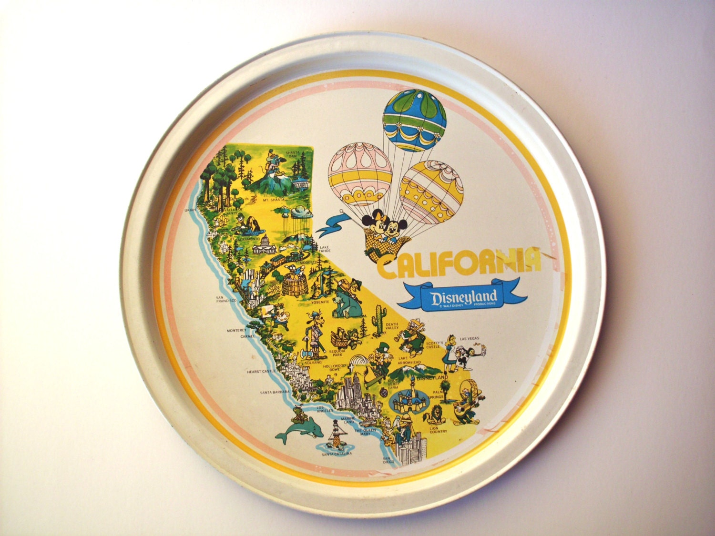 Souvenir Disneyland Plate