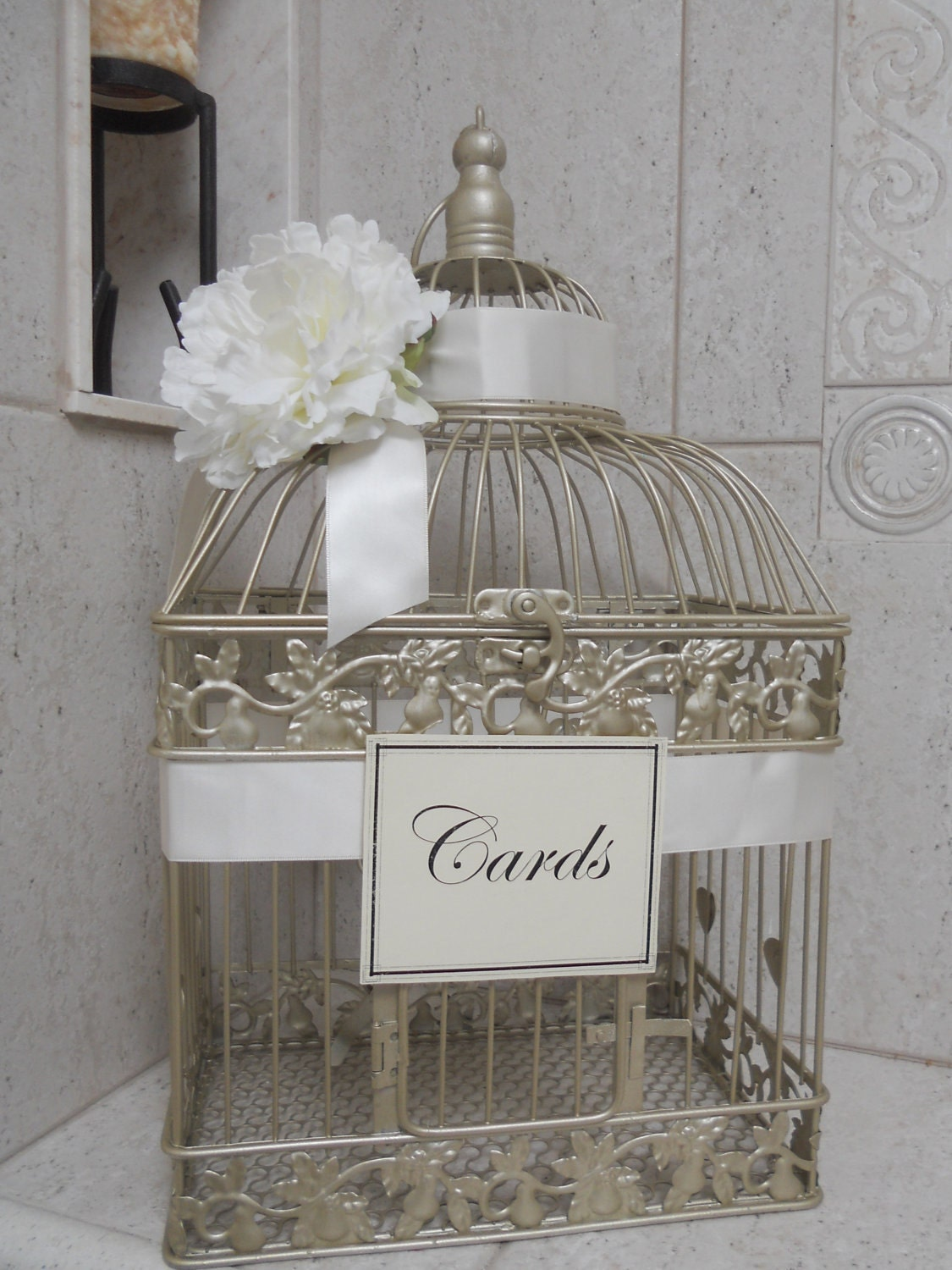 Birdcage For Wedding Gift Cards : Unavailable Listing on Etsy