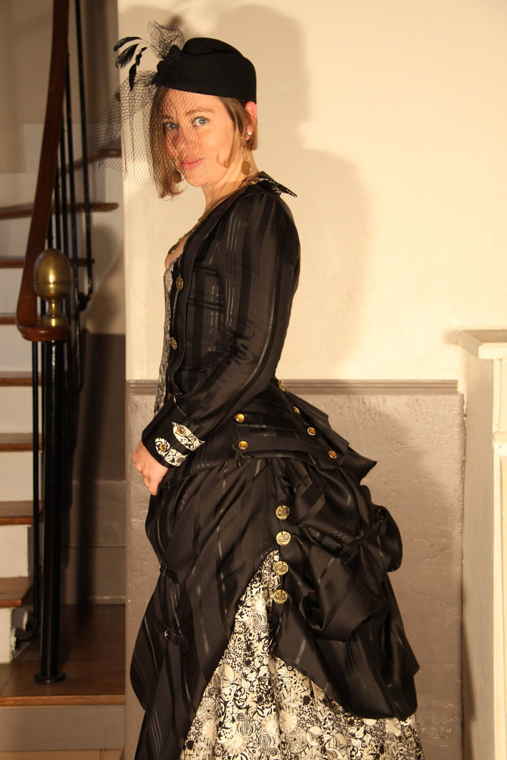 Items Similar To Steampunk Victorian Dress On Etsy