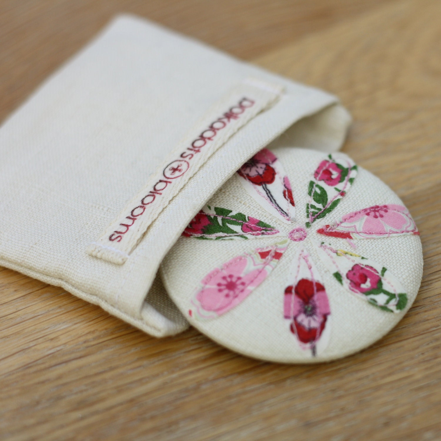 Pocket Mirror - Flower