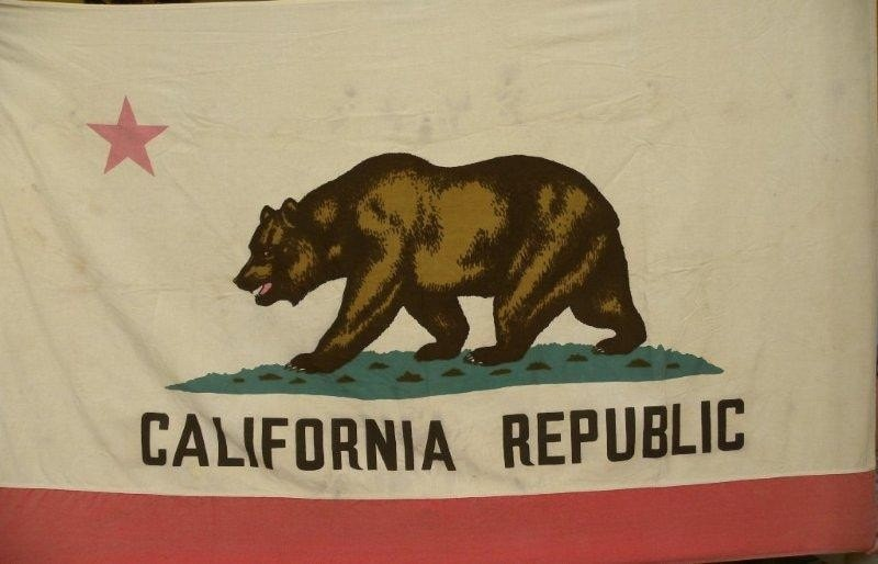 items similar to full size vintage california republic flag on etsy