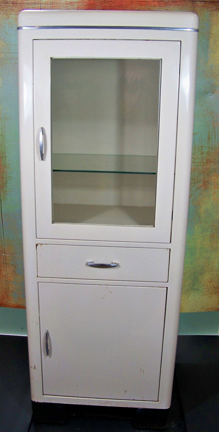 black apothecary cabinet